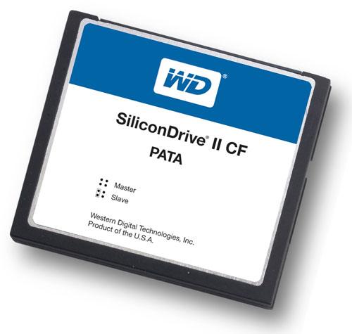 Western Digital SSD C08G 4300 SiliconDrive II CF 8GB CompactFlash